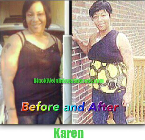 Karen weight loss before and after
