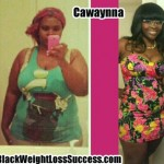 Cawaynna lost 73 pounds with weight loss surgery