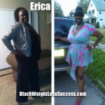Erica lost 77 pounds with weight loss surgery