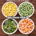 Weight Loss on a Budget Tip #1: Frozen is your Friend