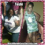 Toshi lost 80 pounds with weight loss surgery