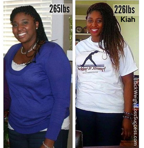 Fighting PCOS: Kiah lost 47 pounds | Black Weight Loss Success