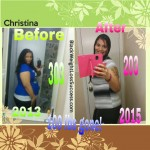 One Year Later: Christina lost 100 pounds