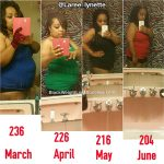 LaRee lost 37 pounds